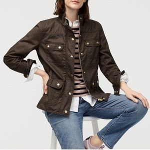 J. CREW Army Green 'Downtown Field Jacket' S